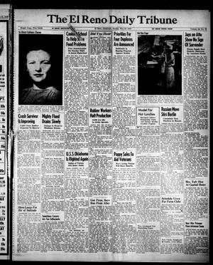 Primary view of object titled 'The El Reno Daily Tribune (El Reno, Okla.), Vol. 52, No. 72, Ed. 1 Sunday, May 23, 1943'.