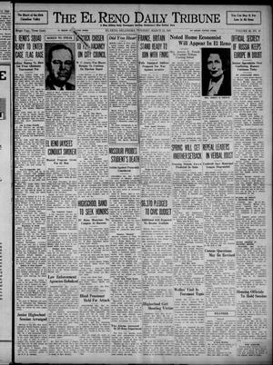 Primary view of object titled 'The El Reno Daily Tribune (El Reno, Okla.), Vol. 49, No. 10, Ed. 1 Tuesday, March 12, 1940'.
