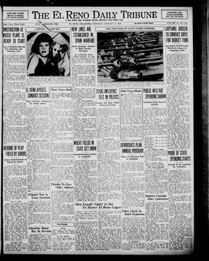 Primary view of object titled 'The El Reno Daily Tribune (El Reno, Okla.), Vol. 47, No. 278, Ed. 1 Tuesday, January 17, 1939'.