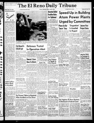 Primary view of object titled 'The El Reno Daily Tribune (El Reno, Okla.), Vol. 65, No. 122, Ed. 1 Friday, July 20, 1956'.