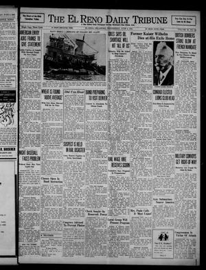 Primary view of object titled 'The El Reno Daily Tribune (El Reno, Okla.), Vol. 50, No. 82, Ed. 1 Wednesday, June 4, 1941'.