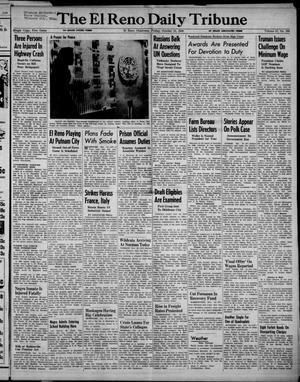Primary view of The El Reno Daily Tribune (El Reno, Okla.), Vol. 57, No. 194, Ed. 1 Friday, October 15, 1948
