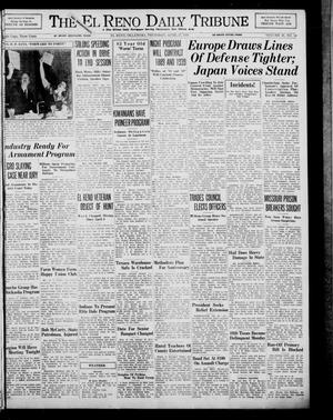 Primary view of object titled 'The El Reno Daily Tribune (El Reno, Okla.), Vol. 48, No. 54, Ed. 1 Thursday, April 27, 1939'.