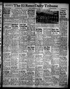 Primary view of object titled 'The El Reno Daily Tribune (El Reno, Okla.), Vol. 55, No. 114, Ed. 1 Thursday, July 11, 1946'.