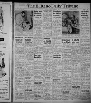 Primary view of object titled 'The El Reno Daily Tribune (El Reno, Okla.), Vol. 58, No. 78, Ed. 1 Tuesday, May 31, 1949'.
