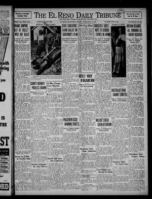 Primary view of object titled 'The El Reno Daily Tribune (El Reno, Okla.), Vol. 49, No. 300, Ed. 1 Friday, February 14, 1941'.