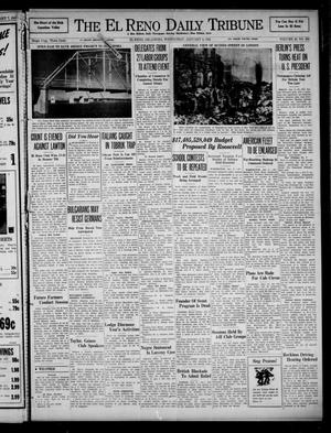 Primary view of object titled 'The El Reno Daily Tribune (El Reno, Okla.), Vol. 49, No. 268, Ed. 1 Wednesday, January 8, 1941'.