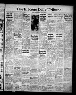 Primary view of object titled 'The El Reno Daily Tribune (El Reno, Okla.), Vol. 53, No. 175, Ed. 1 Friday, September 22, 1944'.