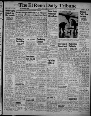 Primary view of object titled 'The El Reno Daily Tribune (El Reno, Okla.), Vol. 57, No. 225, Ed. 1 Sunday, November 21, 1948'.