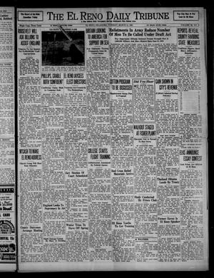 Primary view of object titled 'The El Reno Daily Tribune (El Reno, Okla.), Vol. 50, No. 9, Ed. 1 Tuesday, March 11, 1941'.