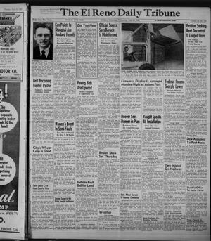 Primary view of object titled 'The El Reno Daily Tribune (El Reno, Okla.), Vol. 58, No. 103, Ed. 1 Wednesday, June 29, 1949'.