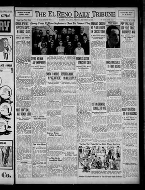 Primary view of object titled 'The El Reno Daily Tribune (El Reno, Okla.), Vol. 49, No. 238, Ed. 1 Tuesday, December 3, 1940'.