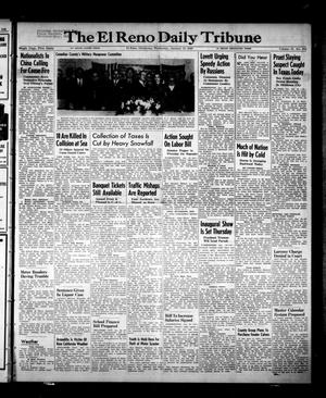 Primary view of object titled 'The El Reno Daily Tribune (El Reno, Okla.), Vol. 57, No. 275, Ed. 1 Wednesday, January 19, 1949'.