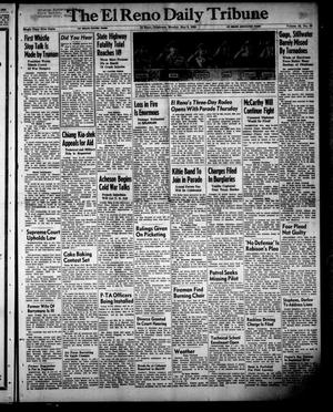 Primary view of object titled 'The El Reno Daily Tribune (El Reno, Okla.), Vol. 59, No. 59, Ed. 1 Monday, May 8, 1950'.