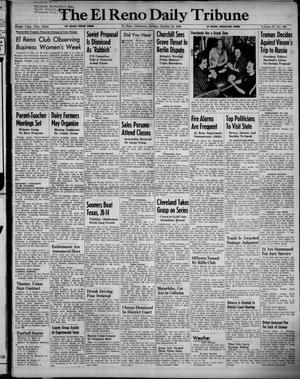 Primary view of The El Reno Daily Tribune (El Reno, Okla.), Vol. 57, No. 189, Ed. 1 Sunday, October 10, 1948