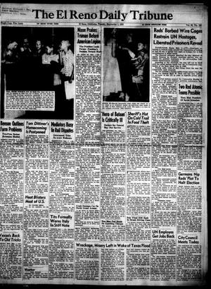 Primary view of object titled 'The El Reno Daily Tribune (El Reno, Okla.), Vol. 62, No. 158, Ed. 1 Tuesday, September 1, 1953'.