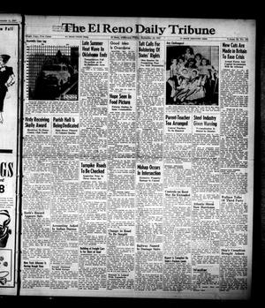 Primary view of object titled 'The El Reno Daily Tribune (El Reno, Okla.), Vol. 56, No. 165, Ed. 1 Friday, September 12, 1947'.