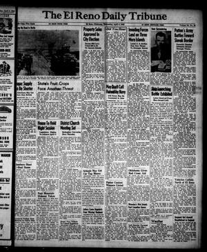 Primary view of The El Reno Daily Tribune (El Reno, Okla.), Vol. 54, No. 30, Ed. 1 Wednesday, April 4, 1945