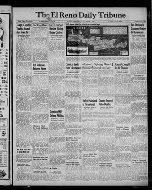 Primary view of object titled 'The El Reno Daily Tribune (El Reno, Okla.), Vol. 52, No. 132, Ed. 1 Monday, August 2, 1943'.
