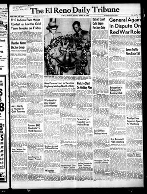 Primary view of object titled 'The El Reno Daily Tribune (El Reno, Okla.), Vol. 64, No. 198, Ed. 1 Thursday, October 20, 1955'.