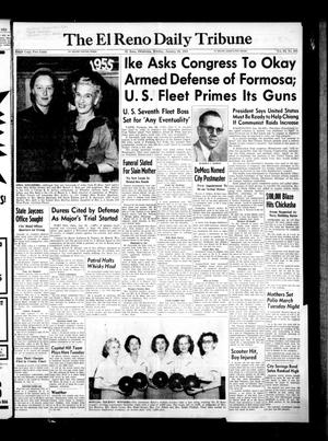 Primary view of object titled 'The El Reno Daily Tribune (El Reno, Okla.), Vol. 63, No. 283, Ed. 1 Monday, January 24, 1955'.