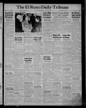 Primary view of object titled 'The El Reno Daily Tribune (El Reno, Okla.), Vol. 52, No. 302, Ed. 1 Friday, February 18, 1944'.