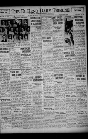 Primary view of object titled 'The El Reno Daily Tribune (El Reno, Okla.), Vol. 50, No. 224, Ed. 1 Wednesday, November 19, 1941'.