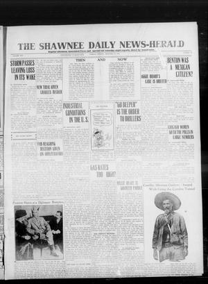 Primary view of object titled 'The Shawnee Daily News-Herald (Shawnee, Okla.), Vol. 19, No. 141, Ed. 1 Tuesday, February 24, 1914'.
