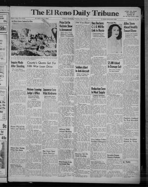 Primary view of object titled 'The El Reno Daily Tribune (El Reno, Okla.), Vol. 53, No. 68, Ed. 1 Thursday, May 18, 1944'.
