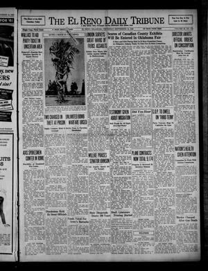 Primary view of object titled 'The El Reno Daily Tribune (El Reno, Okla.), Vol. 49, No. 174, Ed. 1 Thursday, September 19, 1940'.