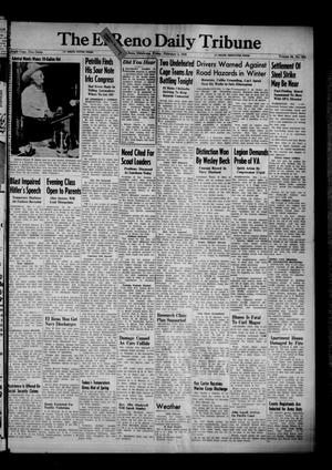 Primary view of object titled 'The El Reno Daily Tribune (El Reno, Okla.), Vol. 54, No. 284, Ed. 1 Friday, February 1, 1946'.