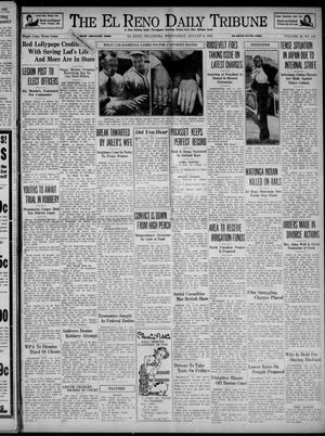 Primary view of object titled 'The El Reno Daily Tribune (El Reno, Okla.), Vol. 48, No. 142, Ed. 1 Wednesday, August 9, 1939'.