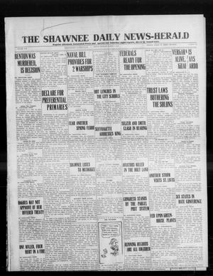Primary view of object titled 'The Shawnee Daily News-Herald (Shawnee, Okla.), Vol. 19, No. 145, Ed. 1 Sunday, March 1, 1914'.