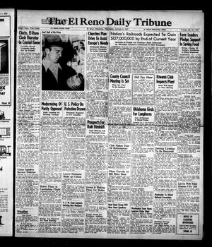 Primary view of object titled 'The El Reno Daily Tribune (El Reno, Okla.), Vol. 56, No. 187, Ed. 1 Wednesday, October 8, 1947'.