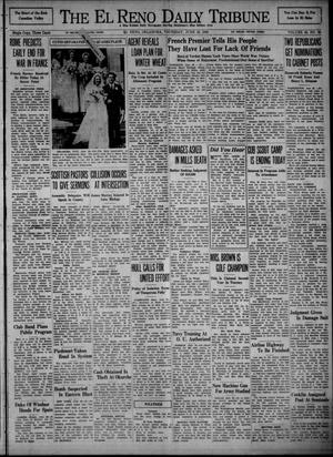 Primary view of object titled 'The El Reno Daily Tribune (El Reno, Okla.), Vol. 49, No. 96, Ed. 1 Thursday, June 20, 1940'.