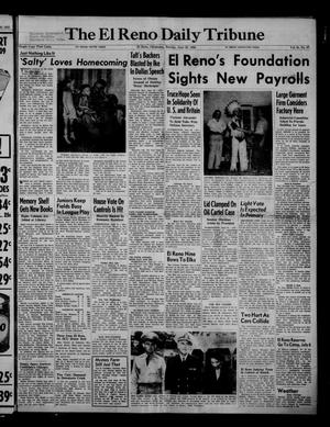Primary view of object titled 'The El Reno Daily Tribune (El Reno, Okla.), Vol. 61, No. 97, Ed. 1 Sunday, June 22, 1952'.