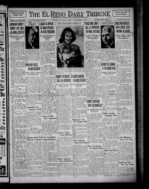 Primary view of object titled 'The El Reno Daily Tribune (El Reno, Okla.), Vol. 49, No. 170, Ed. 1 Sunday, September 15, 1940'.