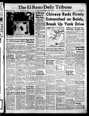 Primary view of object titled 'The El Reno Daily Tribune (El Reno, Okla.), Vol. 62, No. 22, Ed. 1 Wednesday, March 25, 1953'.