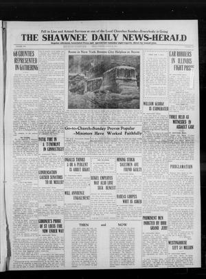 Primary view of object titled 'The Shawnee Daily News-Herald (Shawnee, Okla.), Vol. 19, No. 157, Ed. 1 Friday, March 13, 1914'.