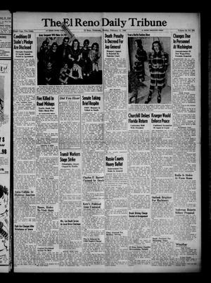 Primary view of The El Reno Daily Tribune (El Reno, Okla.), Vol. 54, No. 292, Ed. 1 Monday, February 11, 1946