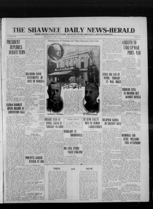 Primary view of object titled 'The Shawnee Daily News-Herald (Shawnee, Okla.), Vol. 19, No. 172, Ed. 1 Monday, March 30, 1914'.
