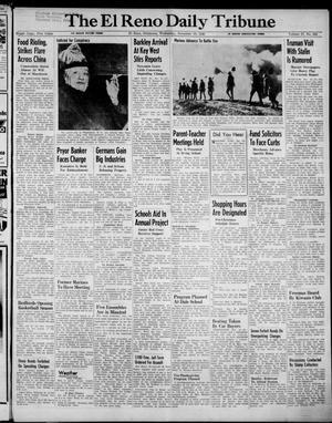 Primary view of The El Reno Daily Tribune (El Reno, Okla.), Vol. 57, No. 216, Ed. 1 Wednesday, November 10, 1948