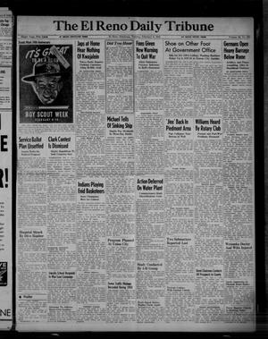 Primary view of object titled 'The El Reno Daily Tribune (El Reno, Okla.), Vol. 52, No. 293, Ed. 1 Tuesday, February 8, 1944'.