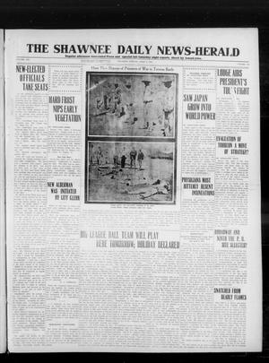 Primary view of object titled 'The Shawnee Daily News-Herald (Shawnee, Okla.), Vol. 19, No. 182, Ed. 1 Thursday, April 9, 1914'.