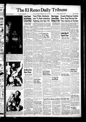 Primary view of object titled 'The El Reno Daily Tribune (El Reno, Okla.), Vol. 62, No. 296, Ed. 1 Thursday, February 11, 1954'.