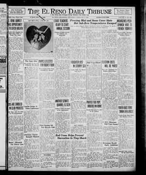 Primary view of object titled 'The El Reno Daily Tribune (El Reno, Okla.), Vol. 47, No. 298, Ed. 1 Thursday, February 9, 1939'.