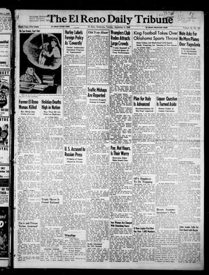 Primary view of object titled 'The El Reno Daily Tribune (El Reno, Okla.), Vol. 55, No. 159, Ed. 1 Tuesday, September 3, 1946'.