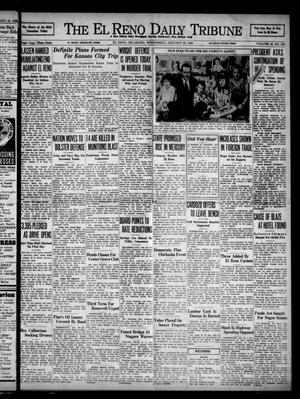 Primary view of object titled 'The El Reno Daily Tribune (El Reno, Okla.), Vol. 46, No. 278, Ed. 1 Wednesday, January 26, 1938'.