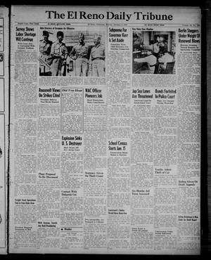 Primary view of object titled 'The El Reno Daily Tribune (El Reno, Okla.), Vol. 52, No. 262, Ed. 1 Monday, January 3, 1944'.