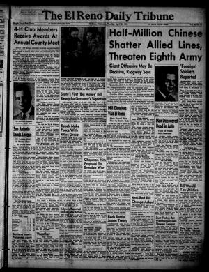 Primary view of object titled 'The El Reno Daily Tribune (El Reno, Okla.), Vol. 60, No. 47, Ed. 1 Tuesday, April 24, 1951'.